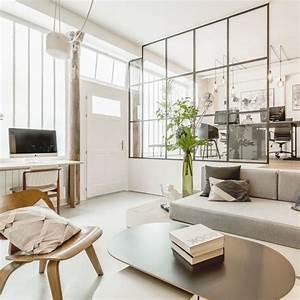 Deco Sejour Moderne : d co salon moderne 30 photos d 39 inspiration c t maison ~ Teatrodelosmanantiales.com Idées de Décoration