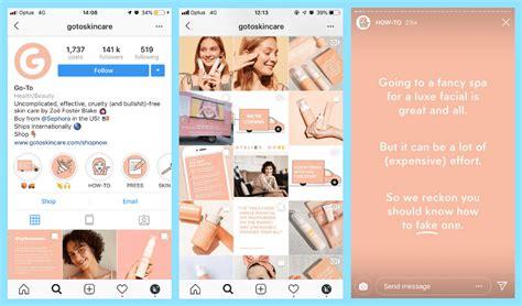 instagram stories branding   design