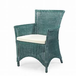 Fauteuil Rotin Design : fauteuil en rotin rosas vert meuble en rotin fauteuil rotin vert rotin design ~ Nature-et-papiers.com Idées de Décoration