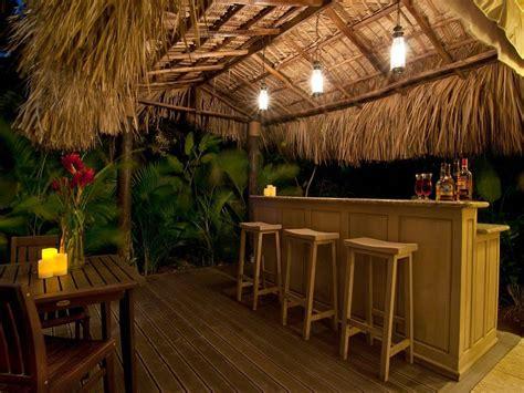 Backyard Bar Designs by Tiki Bar Outdoor Patio Bars Ideas Outdoor Tiki Bar