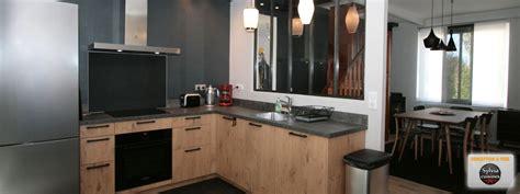 atelier de la cuisine cuisine esprit atelier cuisines caen acier béton ciré