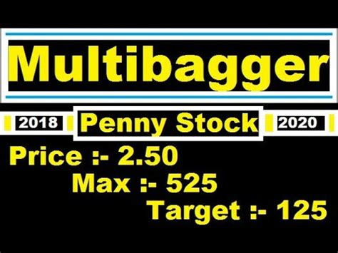 penny stock   rupeesmultibagger penny stock