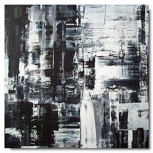 Abstract Art Black And White Painting Hd Background 8 HD ...