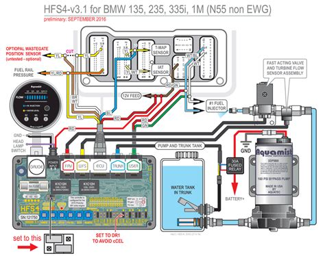 bmw n55 wiring diagram bmw early n55 hfs4 v3 1 installation unfinished page 2 waterinjection info