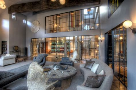 urban living room design ideas  industrial style