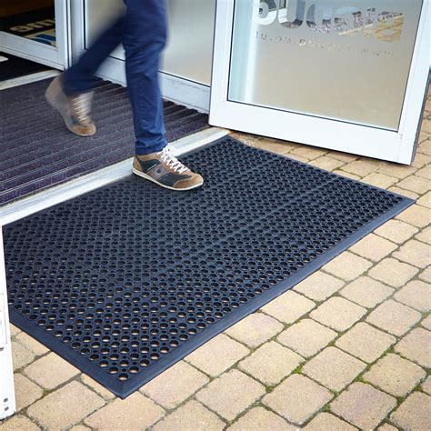 Large Doormat by Large Rubber Heavy Duty Entrance Door Doormat Floor Mat