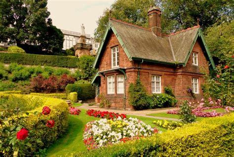amazing english cottage wallpaper  home garden hd