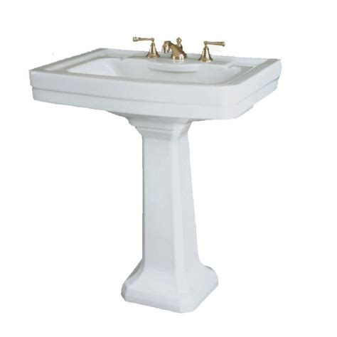 home depot pedestal sink st thomas creations st thomas by icera richmond grande