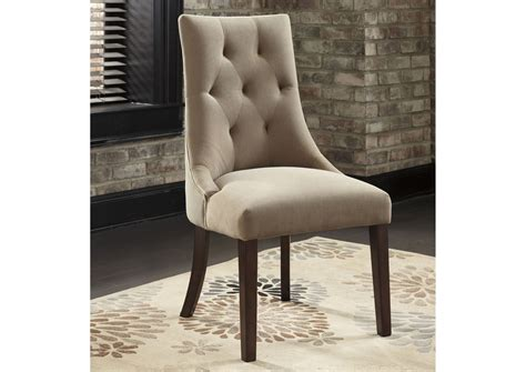 Mestler Tufted Side Chair by Rick S Furniture Starkville Ms Mestler Light Brown