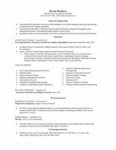 resume template engineering entry level sle entry level software engineer resume