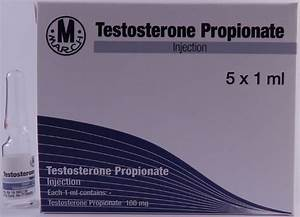 Testosterone Propionate March 5x100mg  1ml  5 Amps   Legal Anabolic Steroids For Sale
