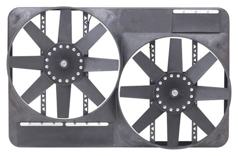 dual electric fans with shroud flex a lite automotive dual 13 1 2 inch electric fan