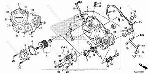 Honda Motorcycle 2017 Oem Parts Diagram For Right