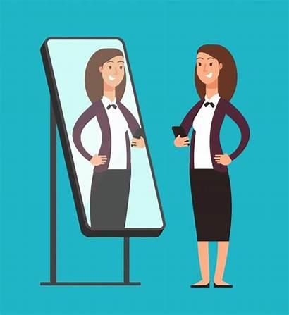 Self Mirror Awareness Reflection Espejo Narcissistic Miroir