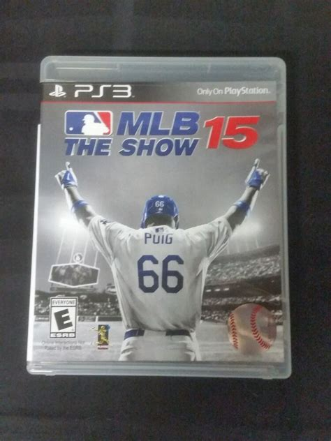 replacement no mlb the show 15 playstation 3 ebay