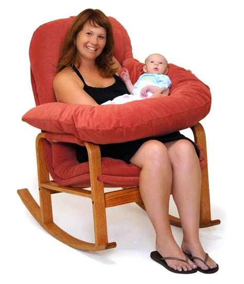 cusion pads rocker with nursing kit brigger furniture by klein design