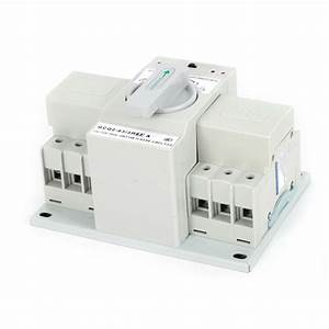 3p 63a Dual Power Automatic Transfer Switch For Generator