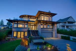 stunning west coast homes contemporary architecture hgtv
