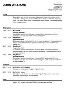 best free resume builders 2015 free resume creator best template collection