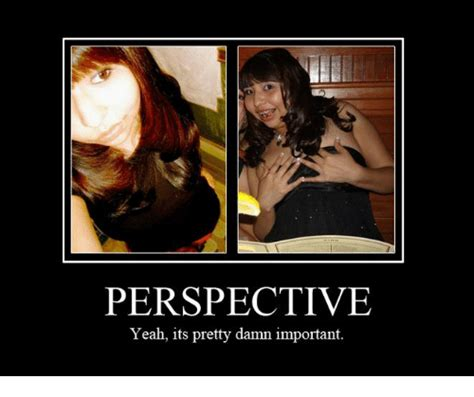Perspective Meme - perspective yeah its pretty damn important meme on sizzle
