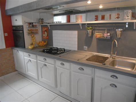de cuisine peindre meuble de cuisine en chene images