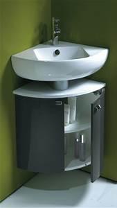 Petit Lave Main D Angle Wc : meuble angle pour toilette ~ Premium-room.com Idées de Décoration