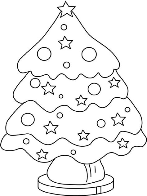 christmas colouring pages for preschoolers tree colouring pages to print coloring part 2 194
