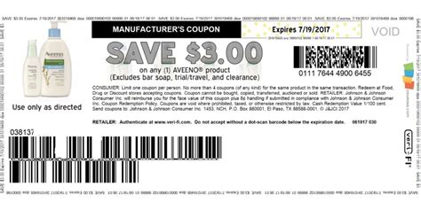 3 00 aveeno coupon print today living rich with coupons 174