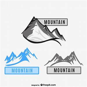 Mountains logos Vector | Free Download