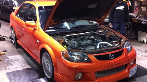 Mazdaspeed Protege 0 60 by 2003 Mazdaspeed Protege Pretune Dyno