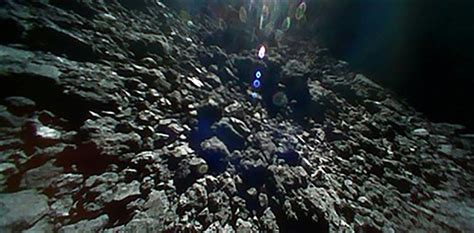 Nex Ii Image by Touchdown Japan Space Probe Lands New Robot On Asteroid