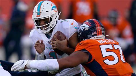 Denver Broncos vs. Miami Dolphins NFL game story | 9news.com