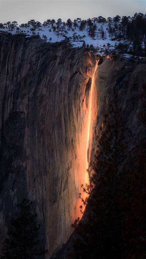 photograph yosemites dazzling firefall