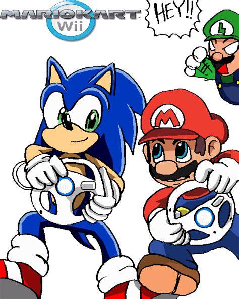 Sonic In Mario Kart By Ss2sonic On Deviantart