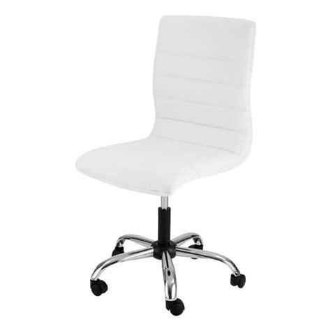 bureau zoe chaise de bureau blanche zoé id 39 clik achat vente