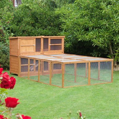 6ft rabbit hutches home roost 6ft chartwell rabbit hutch no1