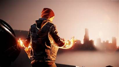 Infamous Son Second Ps4 Pro Wallpapers Games