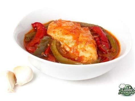 recette de cuisine poulet recettes de poulet basquaise de la cuisine de bernard