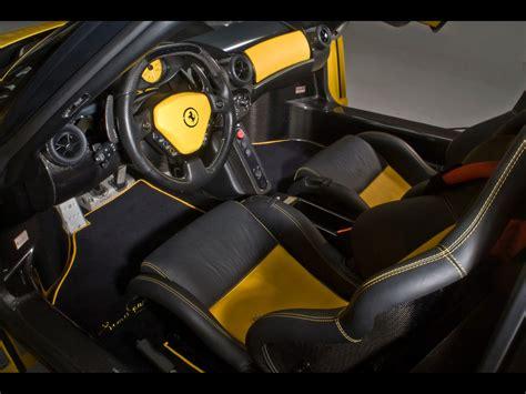 ferrari custom interior edo competition custom enzo based on ferrari enzo news