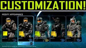 Halo Master Chief Collection Customization! (All ...