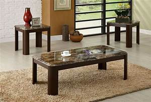 vernon marble top coffee table set With granite top coffee table sets