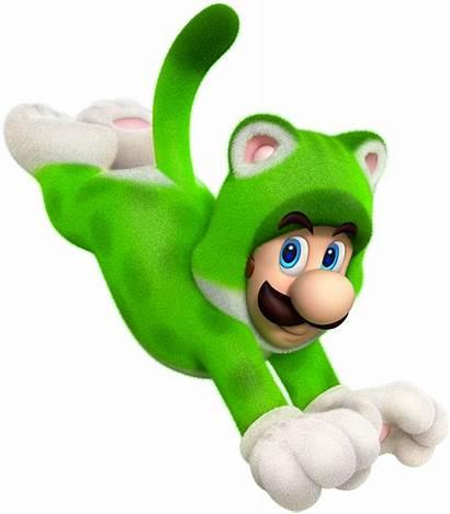 Cat Luigi Mario Fanpop Super 3d
