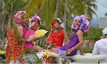 Pride Vallarta Parade Gay Mexico Huge Festival