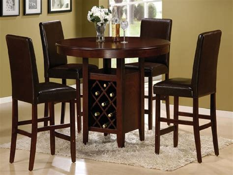 high top kitchen tables pub style dining room with black
