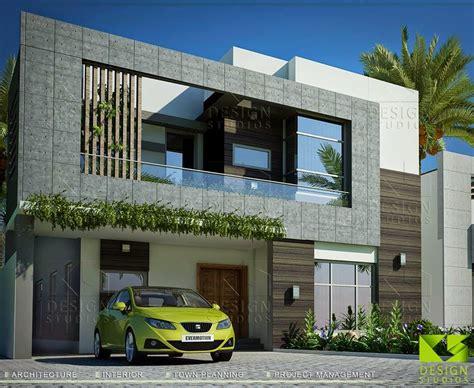 10 Marla House  3d Front Designblog