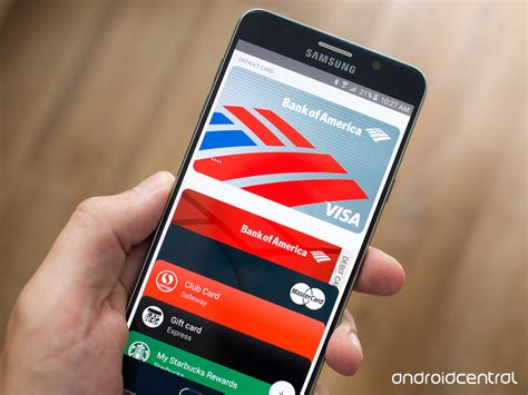 bank of america is bringing android pay support to 5 000 atms this year android central
