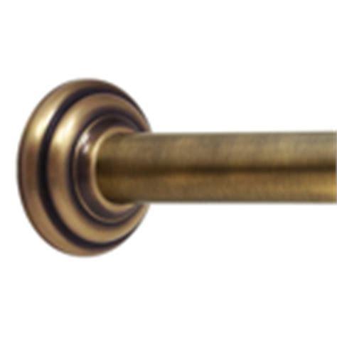 antique brass showerrods etc