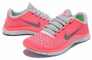 Outlet Nike Free 3.0 V4 Womens Hot Punch Reflectiv Silver ...