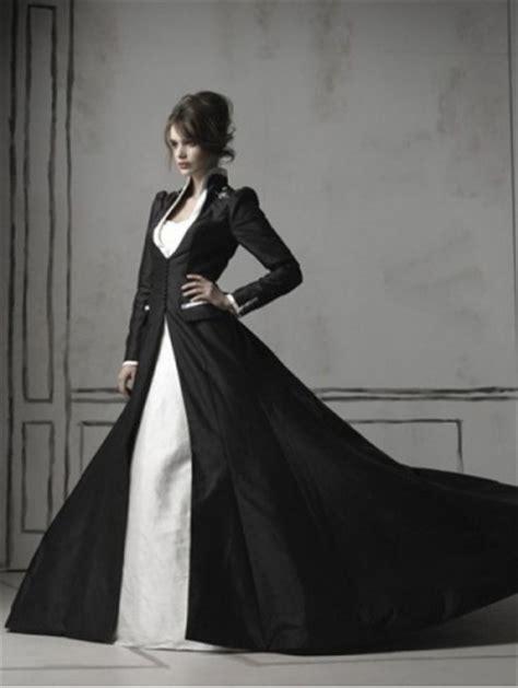 black sleeve wedding dresses black and white sleeves wedding dress devilnight co uk