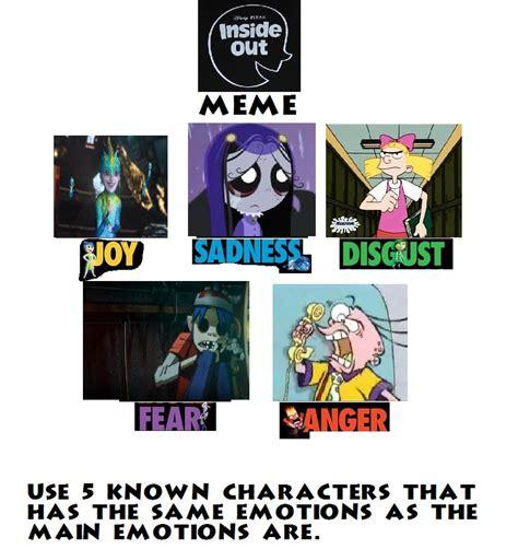 Inside Out Memes - inside out meme my version by smoothcriminalgirl16 on deviantart